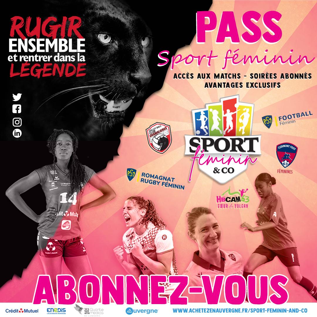 LE PASS Sport Féminin !